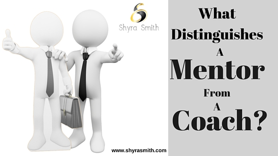 What Distinguishes a Mentor from a Coach?